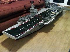 HMS Babalas (Babalas Shipyards) Tags: lego aircraft military navy carrier hmsbabalas