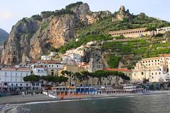 Amalfi dal mare  -  Amalfi from the sea