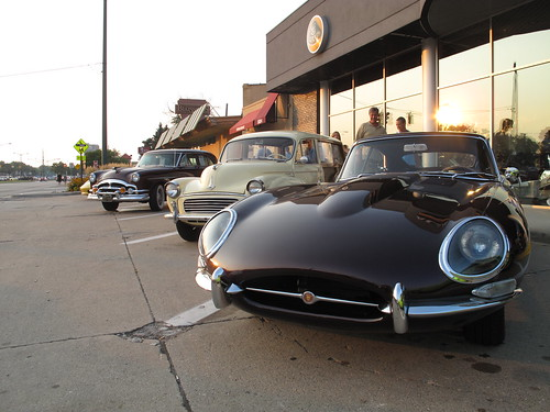 Jag E-Type & Morris Minor