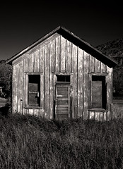 Ghost Town House (booksin) Tags: old blackandwhite bw white house black newmexico building abandoned rotting town decay ghost structure abandonment decaying dwelling booksin copyrightbybooksinallrightsreserved
