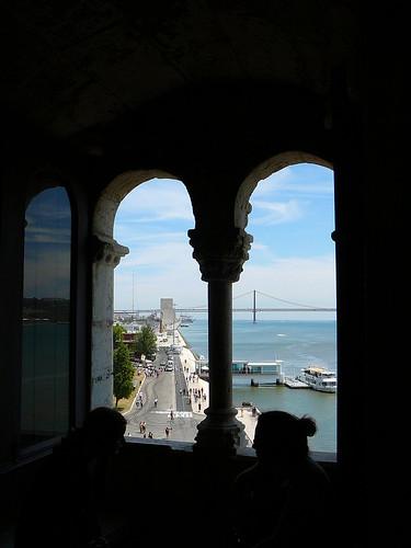 Una ventana a Lisboa.