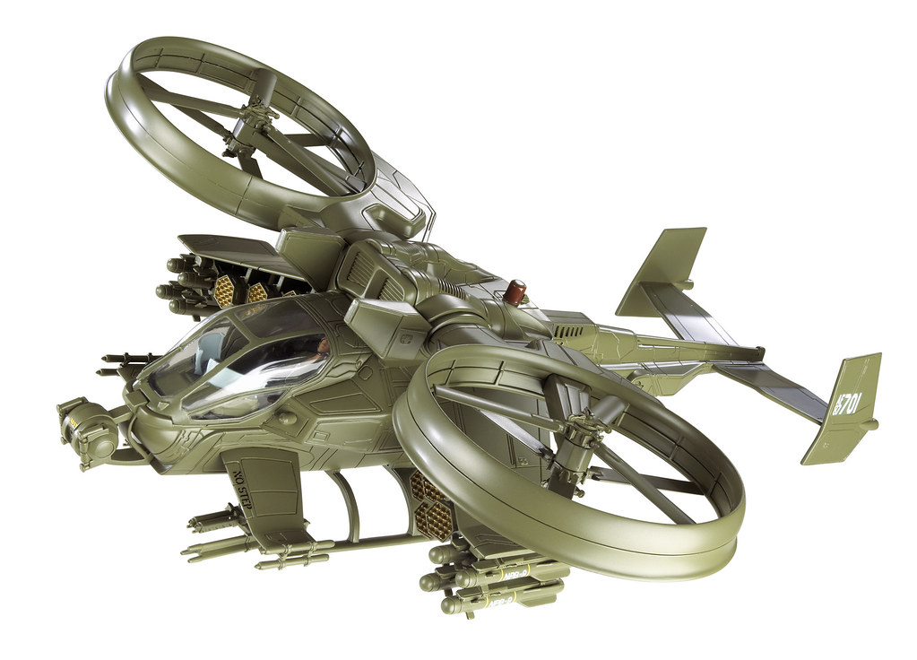 Avatar toy figure helicopter Scorpion