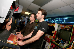 "Zachary Quinto at ""Save the Arcades"" 3 (Stride Gum) Tags: zacharyquinto stridegum glendalecausa savethearcades"