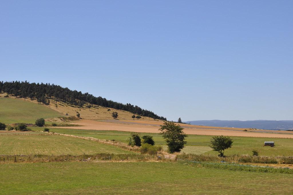 paysage rural en france