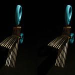 Shredder Scissors シュレッダーはさみ(parallel 3D) thumbnail