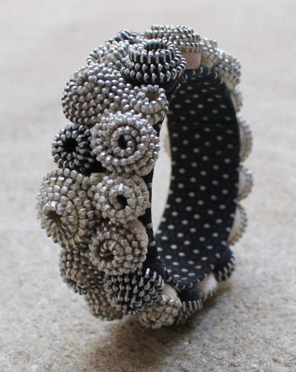 WheelerWillisJewelry zipper bracelet 1