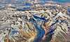 Bird's eye view of the Mighty Himalayas (Dreamzzzz....) Tags: india mountain snow history water river bravo birth explore leh frontpage himalayas ladakh jammuandkashmir ladhak
