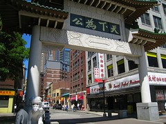 Boston's Chinatown (by: RosieTulips, creative commons license)