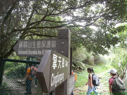 你拍攝的 14磺嘴山生態保護區。