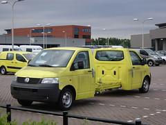 IJsselstein: Volkswagen Transporter Twin Cabin (harry_nl) Tags: netherlands volkswagen cabin twin 2009 transporter ijsselstein terberg