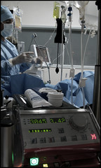 ECMO (stef974run) Tags: nurse emergency chographie perfusion ranimation infirmire ecmo cathter jugulaire