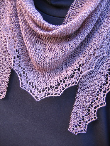 Heart to Heart Lace Scarf