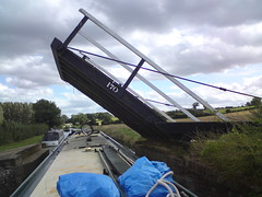 Lift Bridge 170 on the Oxford Canal