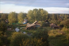 221/365 Siberian village (gabbylawson) Tags: travel houses holiday canon village russia siberia transsiberian project365 siberianvillage 221365 daytwohundredandtwentyone project3661 gabbylawson