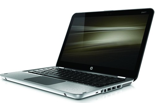 HP Envy 13_left facing open on white