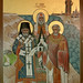 Saints Raphael of Brooklyn, Tikhon -- Patriarch of Moscow, Alexis of Wilkes-Barre, and Nicholas II Tsar of Russia