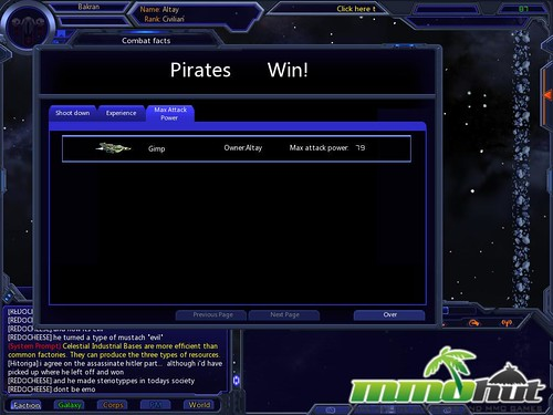 Galaxy Online Pirates Win by MMOHut