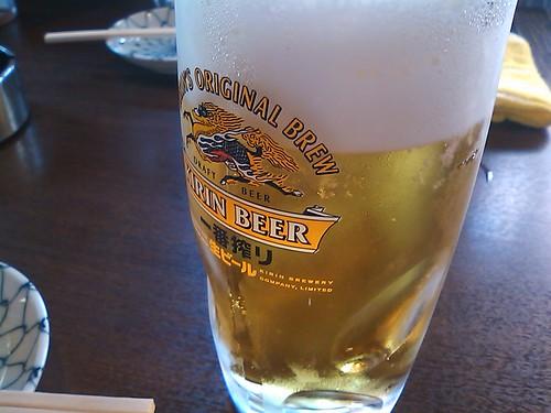 角打ち山ちゃん:生ビール