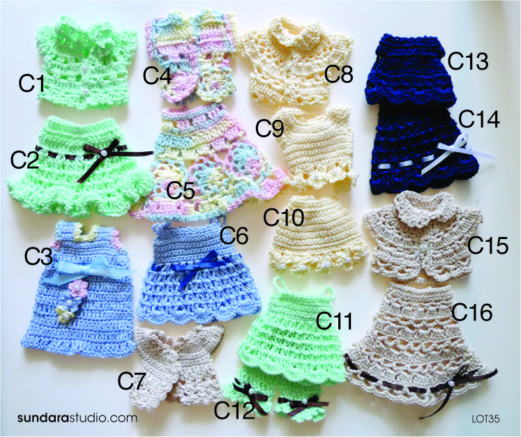outfit for Pullip, Dal & Blythe