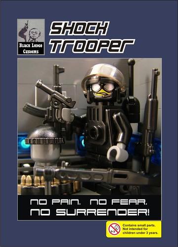 Shock Trooper - BrickArms Black Lodge Customs BrickCon 2009 Exclusive