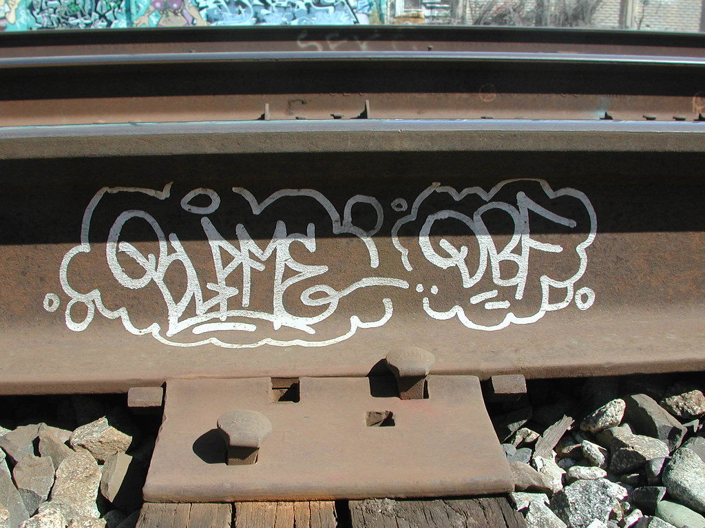 Blame Graffiti Tag in Oakland California.