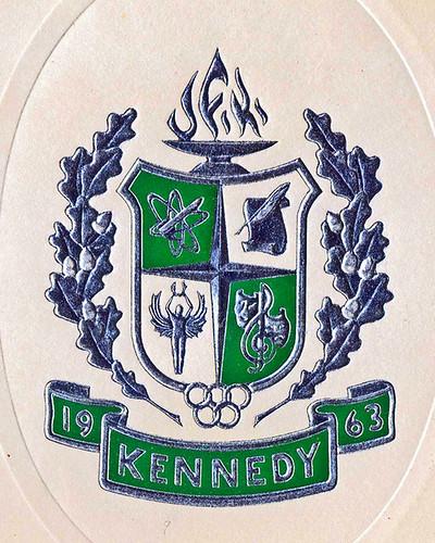 John F. Kennedy High School coat-of-arms