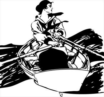 woman-in-rowboat