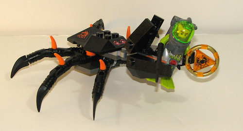 LEGO Atlantis 8056 Monster Crab Clash - Completed 3