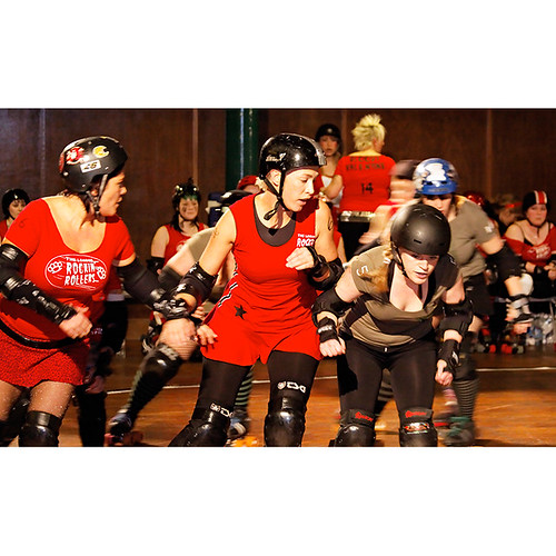Fightmare before Christmas, London Rockin Rollers v Birmingham Blitz Dames