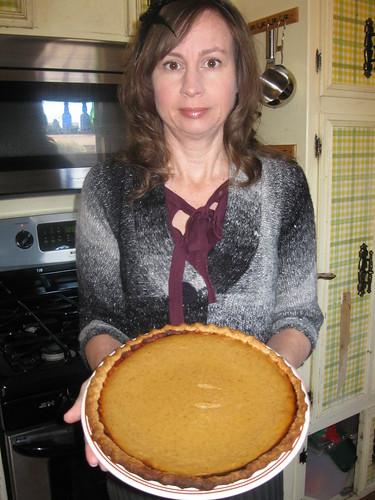 Jack-O-Lantern Pie