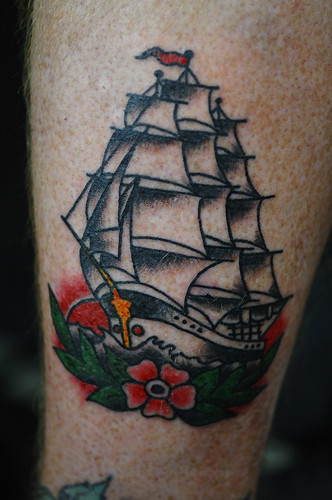 anchor tattoos. Black Anchor Tattoo Denton