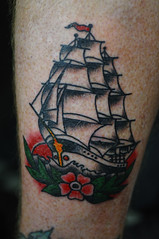 Clipper Ship Traditional Tattoo by KeelHauled Mike Black Anchor Tattoo Denton Maryland (KeelHauled Mike) Tags: black mike tattoo by dc washington ship metro traditional maryland baltimore area anchor denton clipper keelhauled wwwkeelhauledmikecom wwwblackanchortattoocom