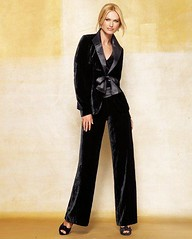 Perfect Black Pants Suit - Xmas Fashion