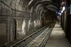 (Brian Hagy) Tags: urban chicago train subway cta decay tunnel il transportation transit