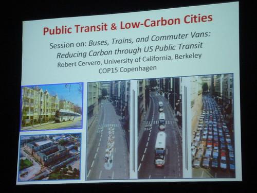 Föredrag om kollektivtrafik med USA:S DOT