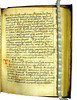 Missing leaf supplied in manuscript in Perottus, Nicolaus: Rudimenta grammatices