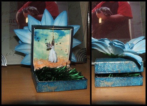 Altered Jewellery Box : Fairy Garden