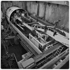 SCRTD - Boring Machine Complete RTD_2005_09 (Metro Transportation Library and Archive) Tags: construction metrorail rtd scrtd dorothypeytongraytransportationlibraryandarchive southerncaliforniarapidtransitdistrict