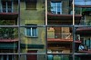 gaze into the mirror:  345/365 (helen sotiriadis) Tags: new old windows reflection glass metal architecture canon buildings square mirror truth published athens balconies 365 frenchdoors canonef100mmf28macrousm canoneos40d toomanytribbles