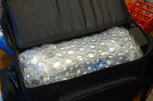 Telescope in bubble wrap