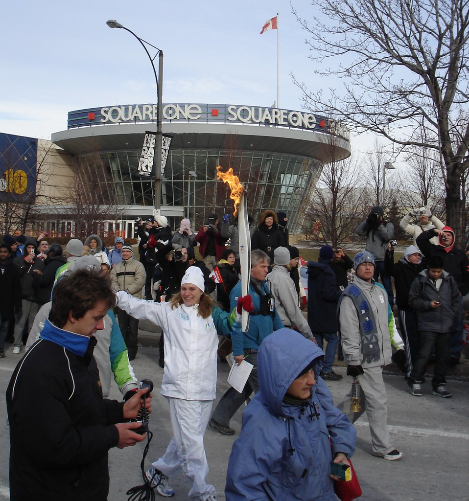 Olympic Torch in Mississauga 46i