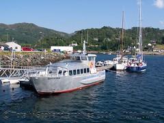 Aluminium trip boat
