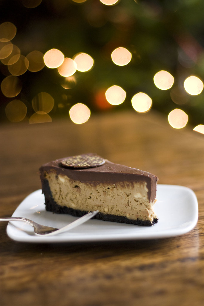 Espresso Chocolate Cheesecake