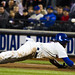 Jose Reyes dives into first