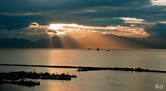 (OualiBelahsene) Tags: africa light sea mer port algeria ngc bateaux lumiere paysage algrie landscap bjaia