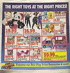 "Children's Palace - ""GRAND OPENING, All Stores Celebrate"" { Colorado Springs C.P. }  Sunday Newspaper supplement .. pg.2 (( October 28,1990 ))"