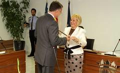 Proclamación de Honorato Algado como Alcalde-Presidente del Ayuntamiento de Finestrat