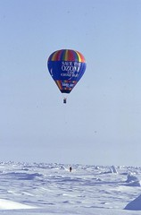 First Hot Air Balloon Flight at the North Pole (Weber Arctic Expeditions) Tags: northpole arcticocean polarexpedition richardweber polartraining