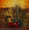 ---- The Red Witch---- (xandram) Tags: photoshop boat textures masts sbfmasterpiece bondsdock sbfgrandmaster
