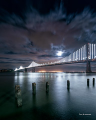 Moonlight (davidyuweb) Tags: moonlight eclipses san francisco sfist sanfrancisco bay light baylight bridge